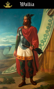 Rey Visigodo Wallia