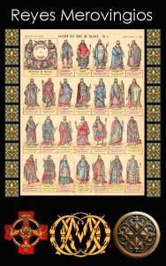 Reyes Francos Merovingios / Somos Godos