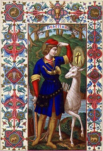 St. Hubert = Uberto de Liège - Obispo de Maastrich