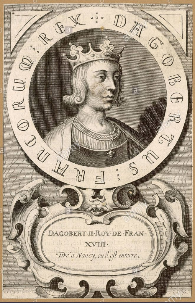 Rey Merovingio Dagoberto II