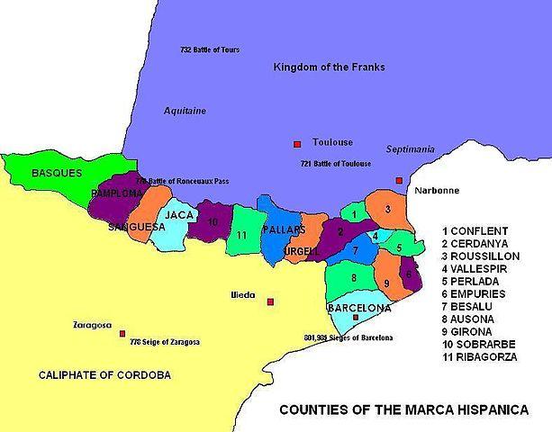 Condados de la Marca Hispánica