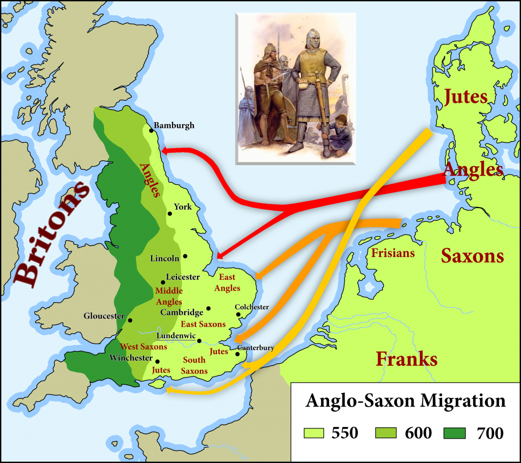 Anglo-Saxo Migration