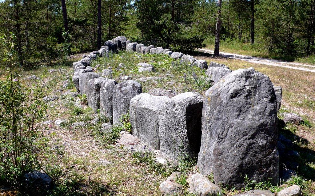 Guta Saga - Tjelvar's Grave