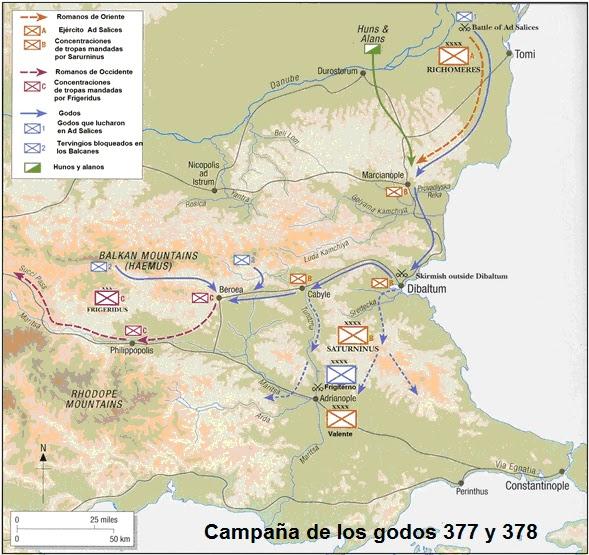 Guerra gótica de 376-382 en los Balcanes