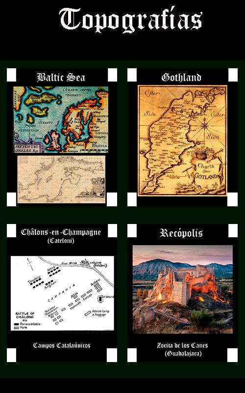 Somos Godos - Geografía Topografías