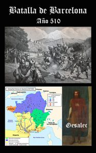 Somos Godos - HISTORIA Batalla de Barcelona (510)