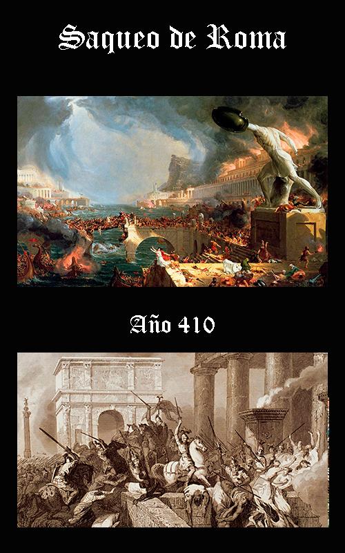 Somos Godos - HISTORIA Saqueo de Roma