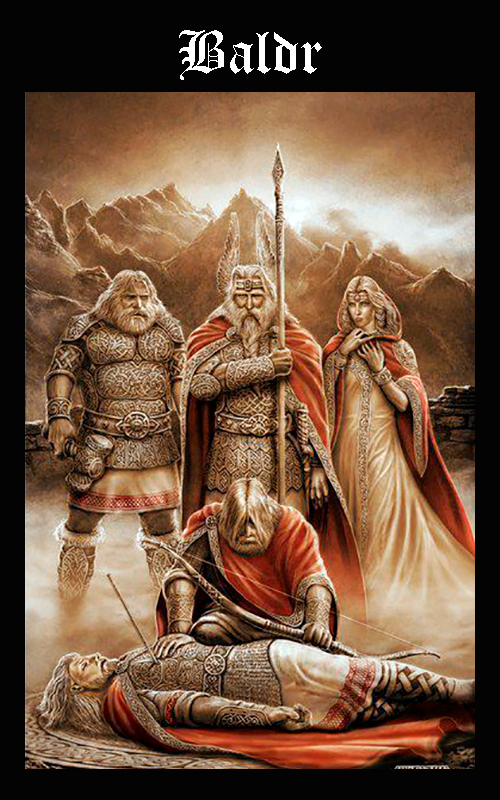 Mitología Nórdica Baldr