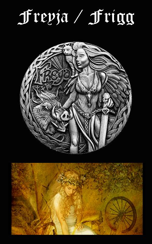 Mitología Nórdica Freyja / Frigg