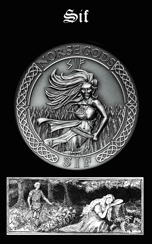 Mitología Nórdica Sif