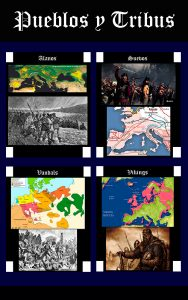 Somos Godos - Geografía : Pueblos y Tribus