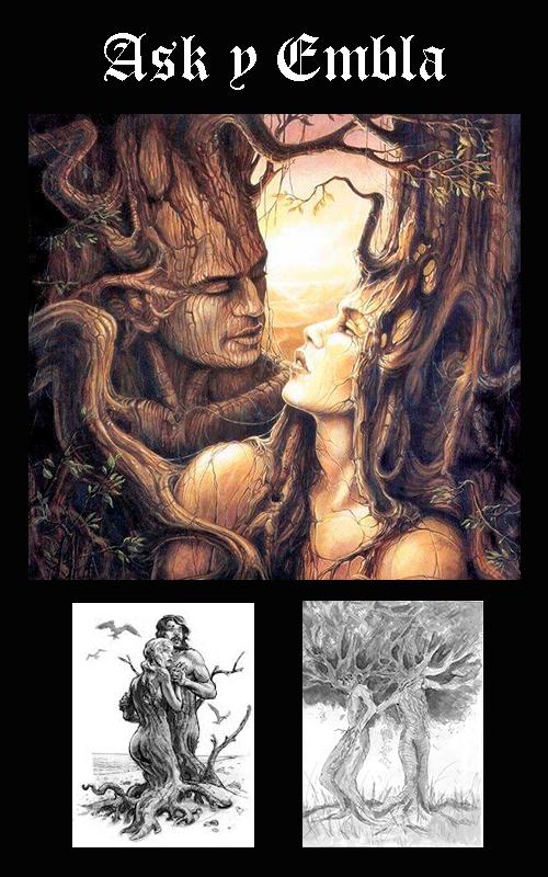 Somos Godos - Espiritualidad / Mitología: Ask y Embla