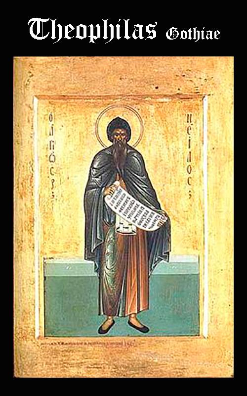 Religión GODOS - Obipo Theophilas Gothiae