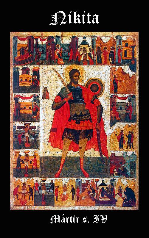 Religión GODOS - Nikita / Niceas, Mártir