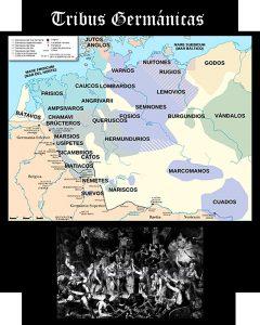 Somos Godos - Geografía / Pueblos y Tribus: Germánicas