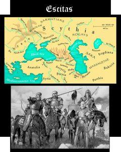 Somos Godos - Geografía : Pueblos y Tribus - Escitas