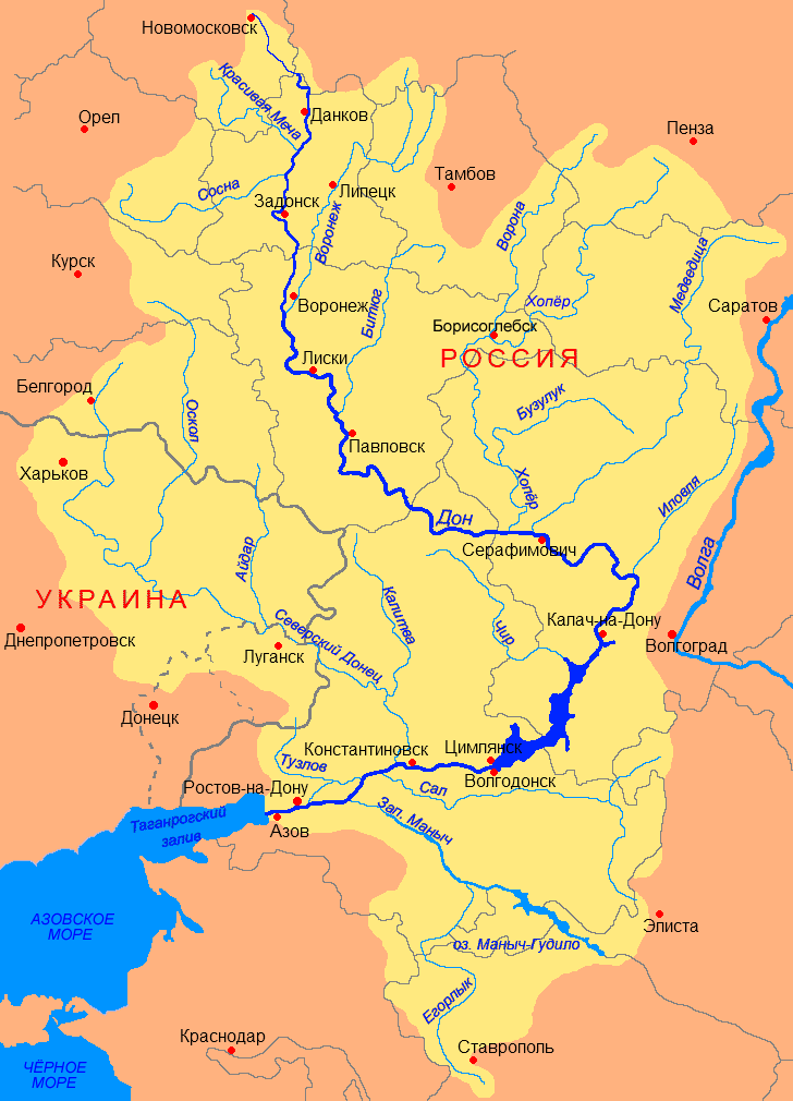 Somos Godos - Geografía / Topografías: Río Tanais