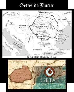 Somos Godos - Geografía / Getas de Dacia