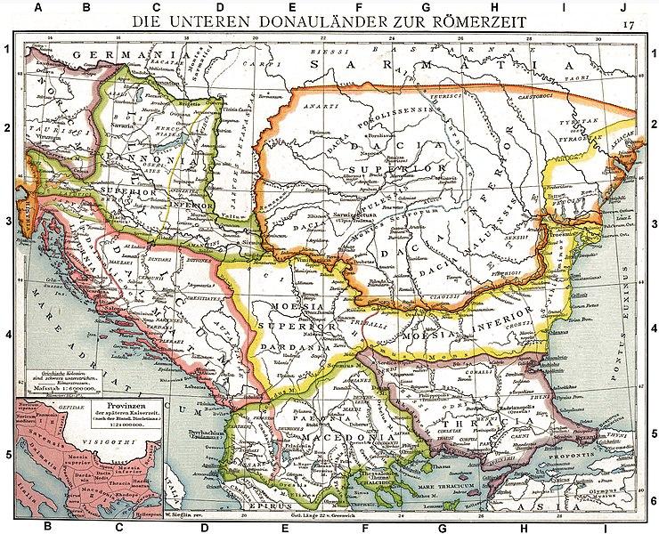 Somos Godos - Geografía - Pueblos y Tribus Tracias y Dacias