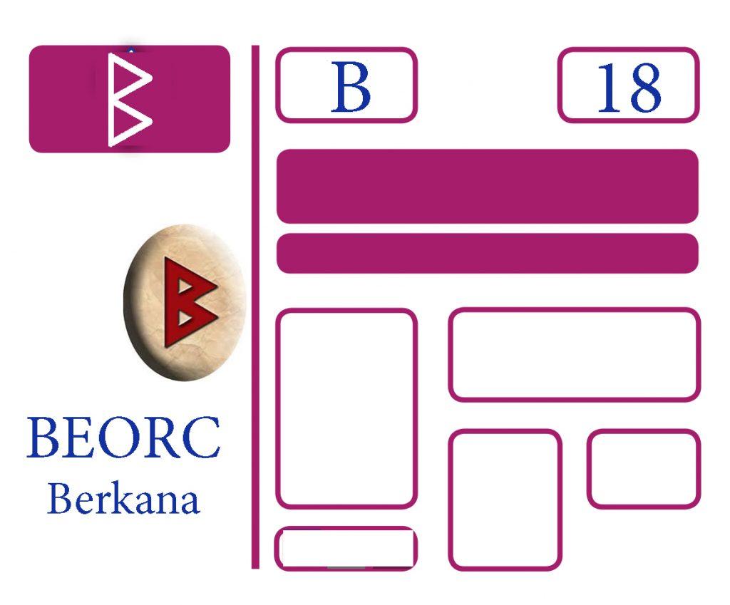 Somos Godos - Lenguaje Runa Beorc / Berkana