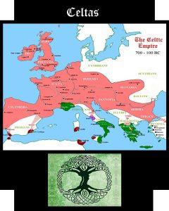 Somos Godos - Geografía /Territorios / Pueblos Celtas