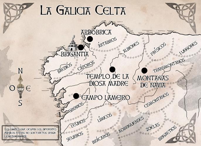Somos Godos - Geografía - Pueblos y Tribus / Celtas - Brigantia (Galicia)