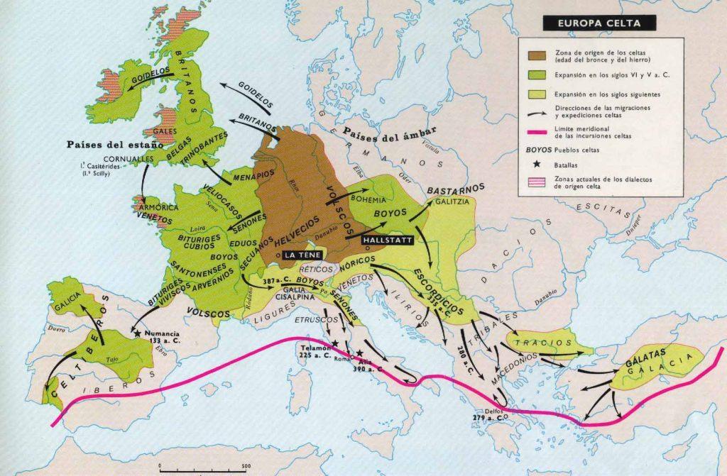 Tribus Celtas en Europa / Boyos - Boii