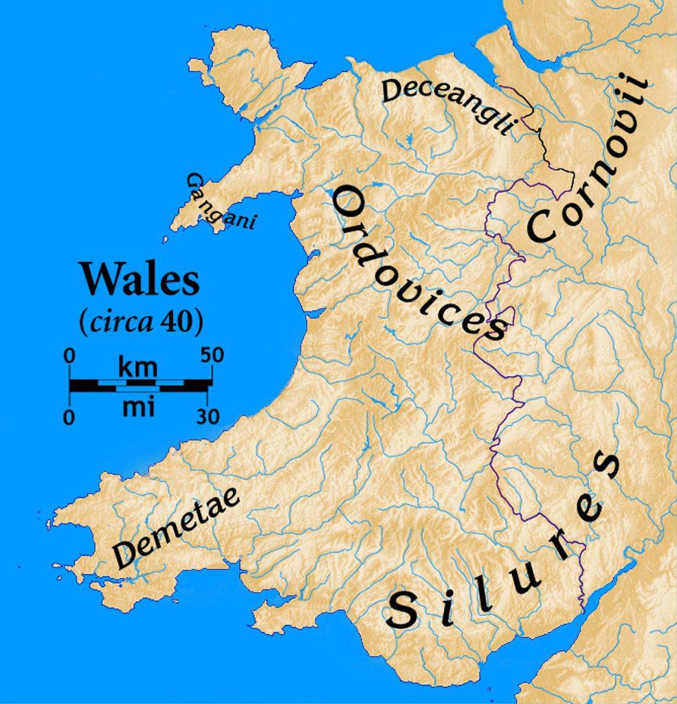 Tribus Celtas en Britania / Cornovios o Cornovii