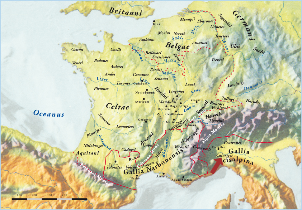 Puelos y Tribus Celtas en Europa