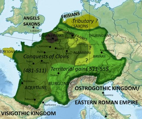 Somos Godos - Geografía - Pueblos y Tribus / Francos