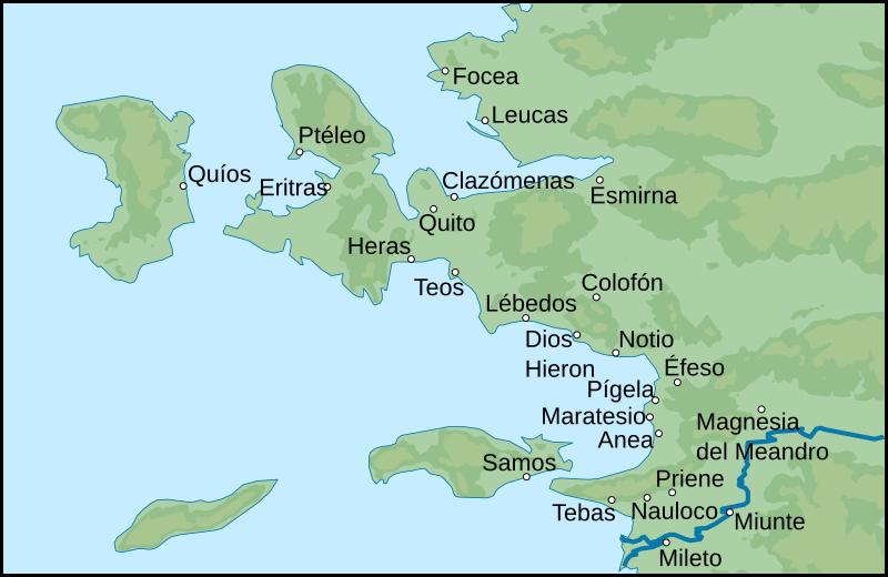 Pueblos y Tribus Jelenas / Jonios / Ionia