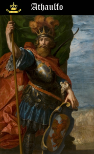 Rey Visigodo Ataulfo