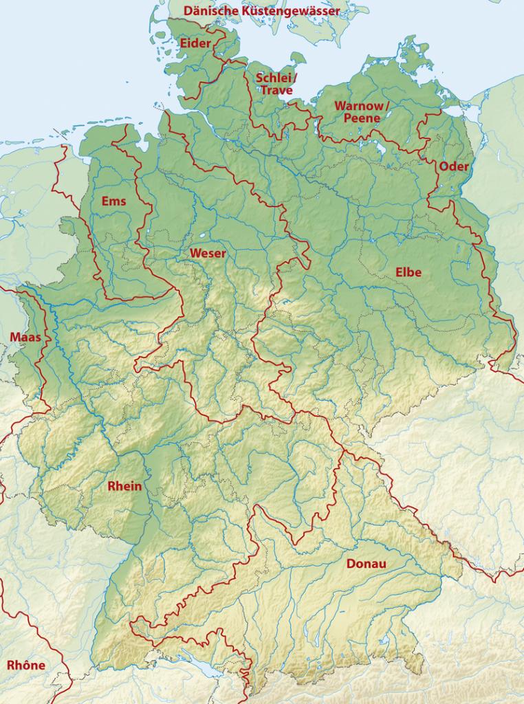 Ríos de Alemania - Rhin y Weser
