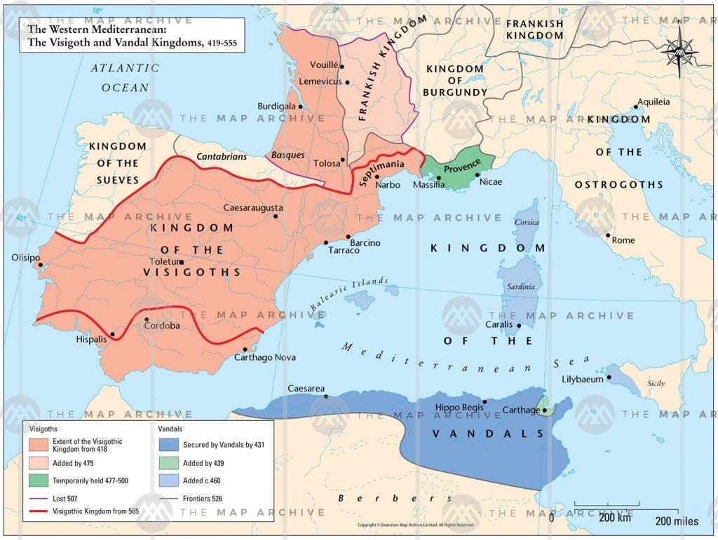 Visigothic Kingdom 419-455