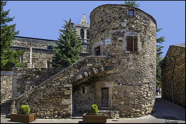 Llivia medieval - Lampegia / Lampade de Aquitania