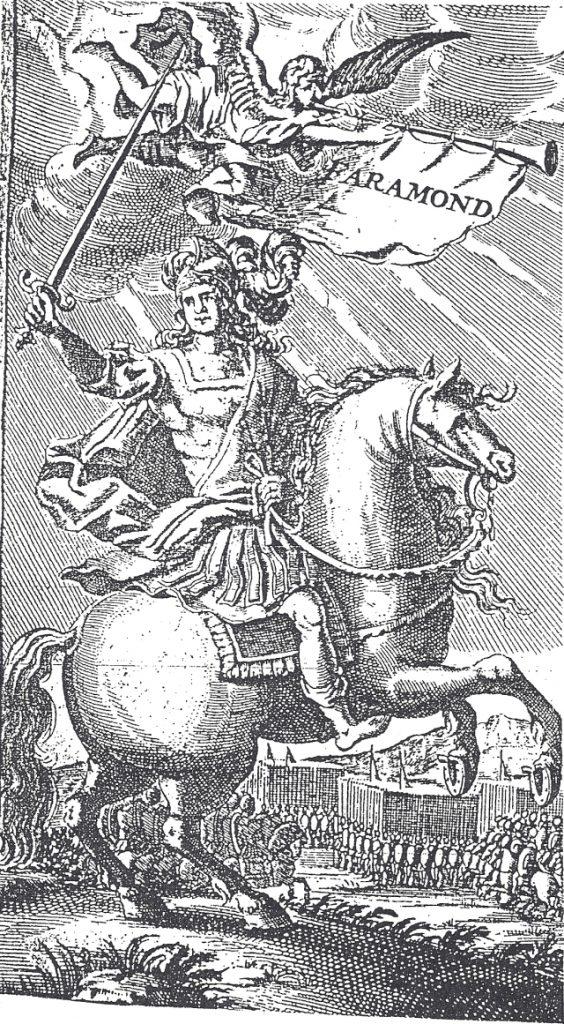 Pharamond / Faramundo 1er Rey Merovingio de los Francos Salios
