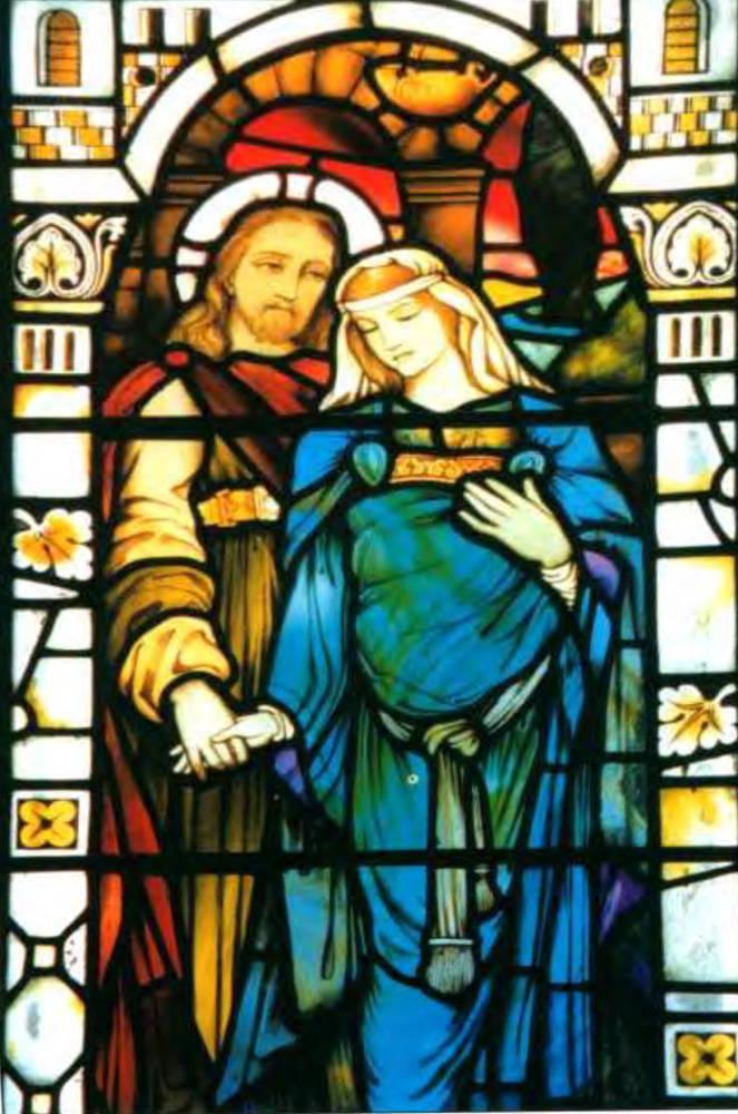 Jesus y Maria Magdalena - Kilmore Church -Isle of Mull