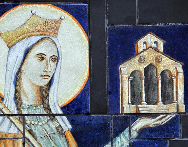 Queen Saint Balthild of Ascania