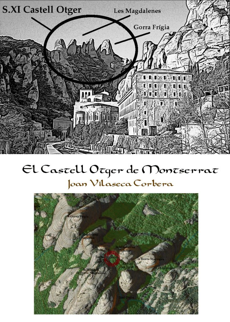 Castillo de Otger Gothland Cathaló en Montserrat