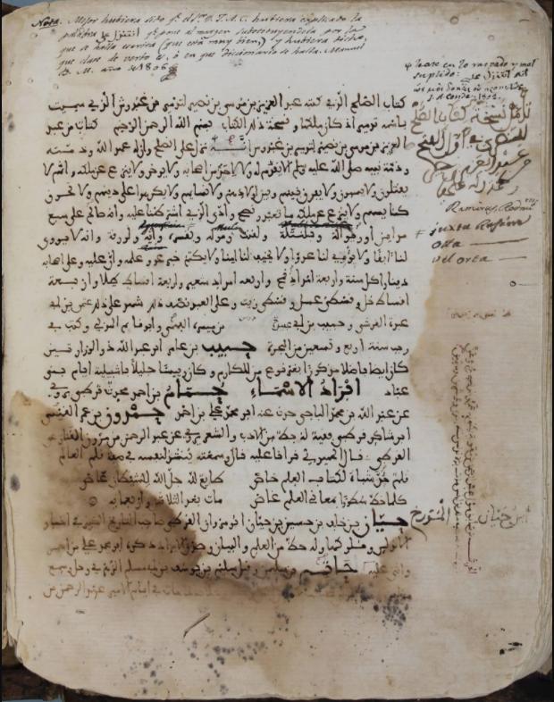Pacto de Tudmir (713) - Documento
