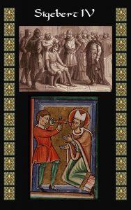 Sigebert IV - Hijo del Rey Merovingio Dagoberto II