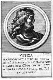 Rey Visigodo Witiza / Witica / Witicha / Vitiza / Witiges