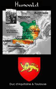 Hunaldo de Aquitania - Hijo de Eudes (Odón el Grande)