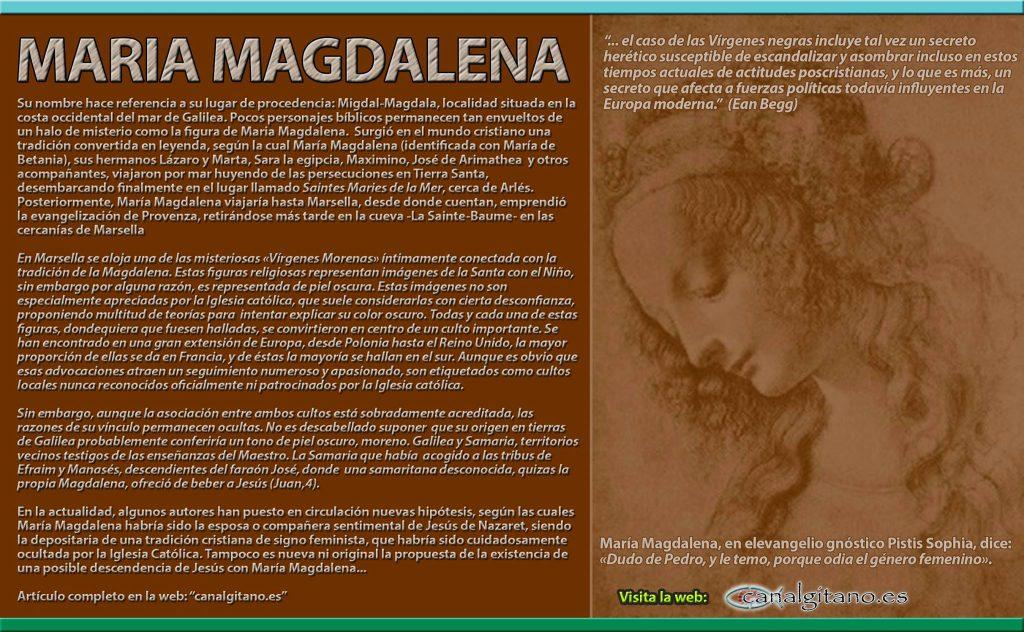 Evangelio codificado de amor entre Jesús y Maria Magdalena