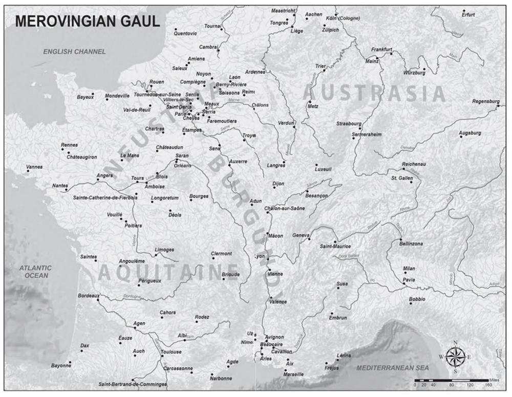 Merovingian Gaul