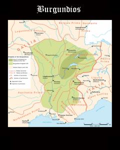 Pueblos Germánicos: Burgundios