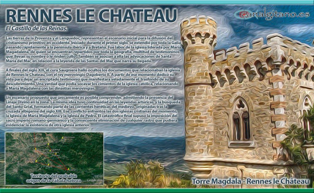 Rennes-le-Château (Rènnas le Castèlh en occitano)