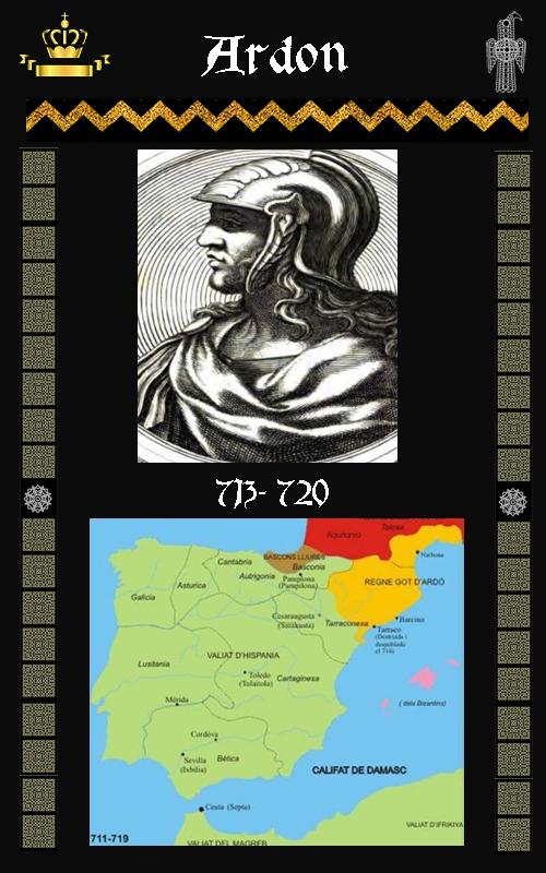 Rey VisigodoArdon Ardabast