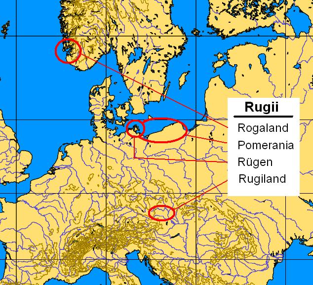 Tribu Germanica Rugios - Rugiland