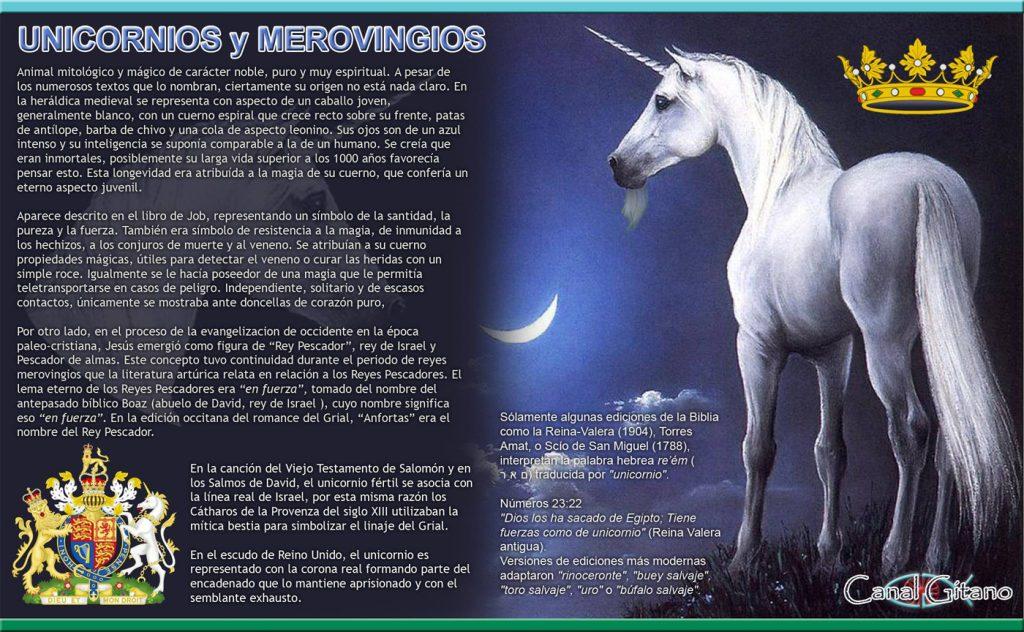 Símbolo Merovingio: El Unicornio